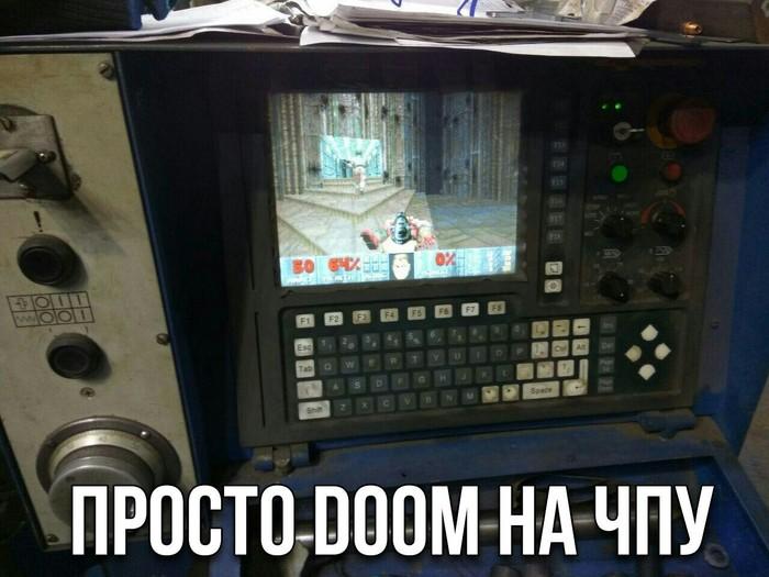Doom на ЧПУ