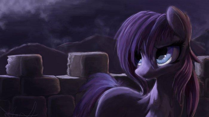 Полночь My little pony, Original Character, Ponyart