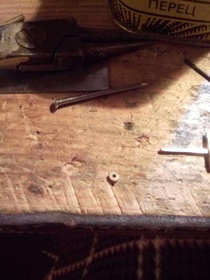 Миниатюрный меч из куска проволоки. длиннопост, меч, миниатюра, крафт, Первый пост