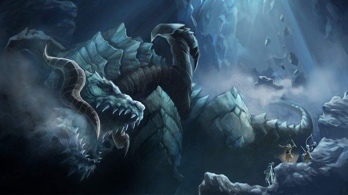 Изначальные драконы Lineage 2, Lineage, MMORPG, Дракон, Shillen, Valakas, Antaras, Fafurion, Гифка, Длиннопост