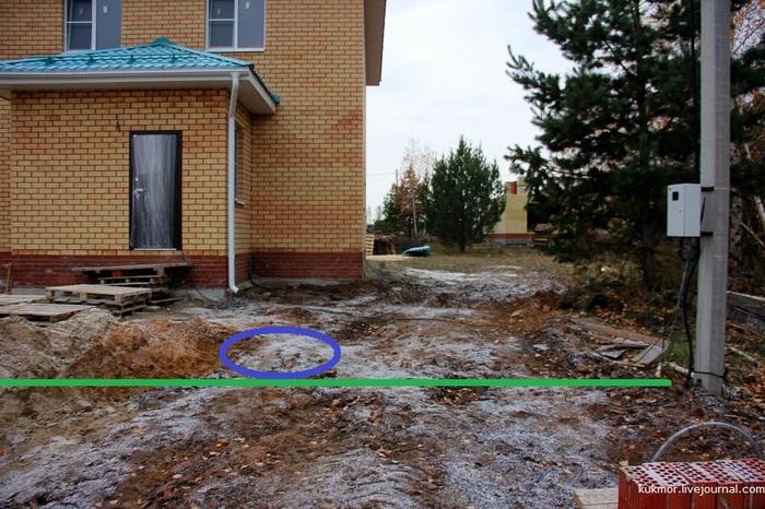 Строим свой дом в Казани за 90 дней. 88, 89-й дни. Строюсвойдом, Свой дом, Дом, Фотография, Моё, Водопровод, Канализация, Длиннопост