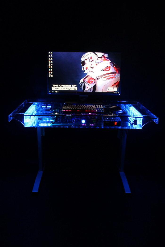 Стол-компьютер творчество, своими руками, фотография, компьютер, моё, моддинг, длиннопост