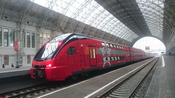 Новые поезда Аэроэкспресс Аэроэкспресс, Внуково, Поезд, Длиннопост