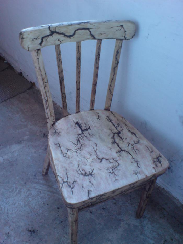 Заготовка стула с молниями. Самоделки, Реставрация, Стул, Дерево, Своими руками, Длиннопост