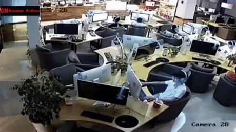 Полное погружение Гифка, Интернет-Кафе, Виртуальный мир, Авто