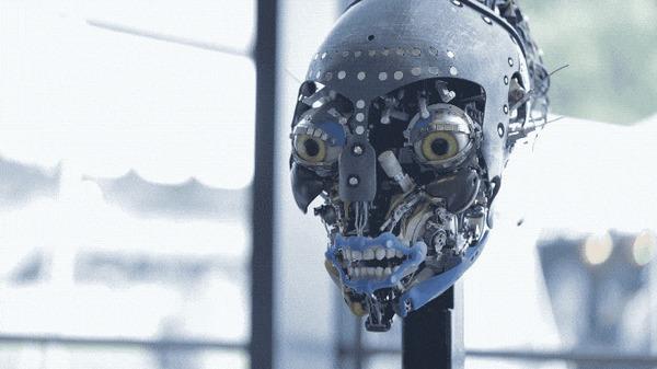 Работа робота Аватара из Дисней
