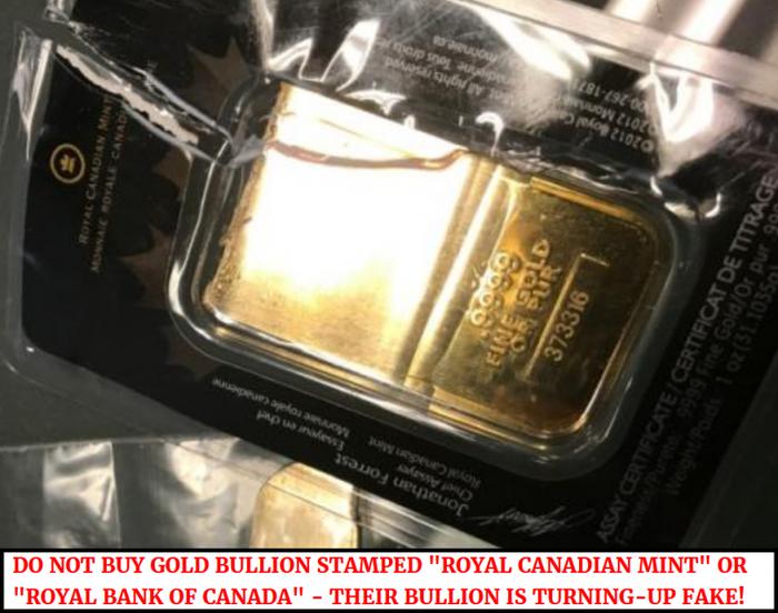 Золотой слиток, удостоверенный Королевским канадским монетным двором, оказался фальшивым Длиннопост, Вопрос, Смешное, Мошенники, Банк, Кража, Вот это поворот, Золото