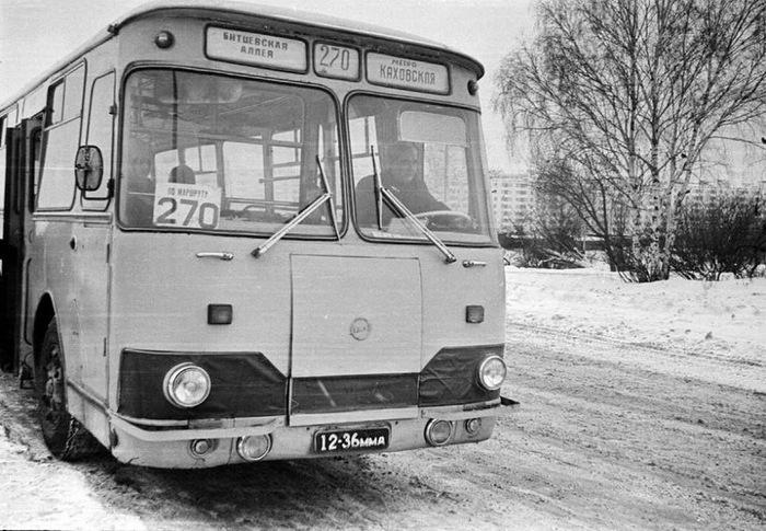Старый автобус. Лиаз, Автобус, Воспоминания