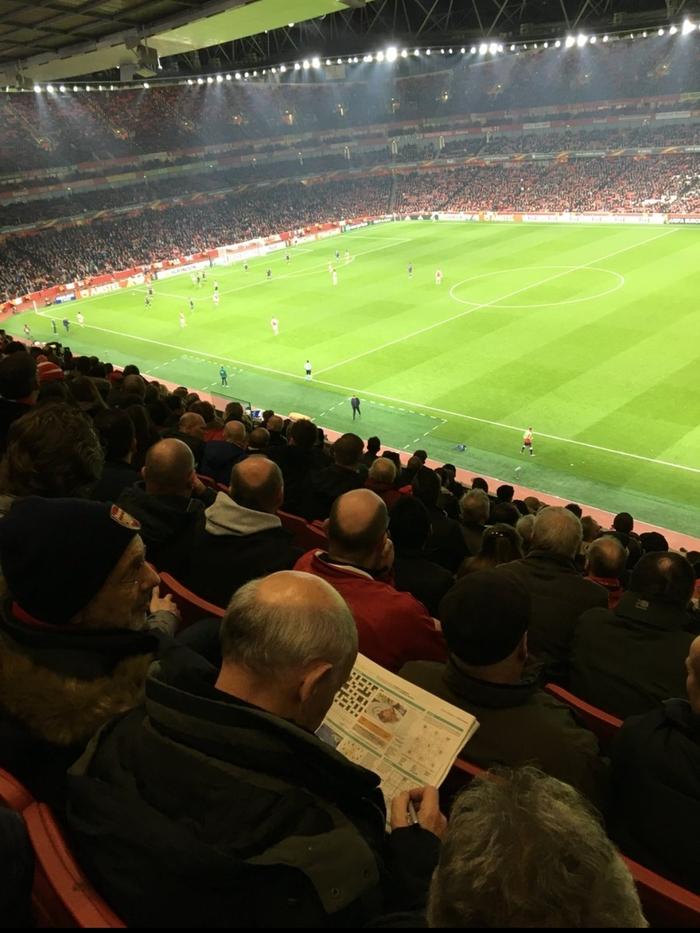 Невероятно зрелищный матч. Арсенал, Црвена звезда, Судоку, Футбол