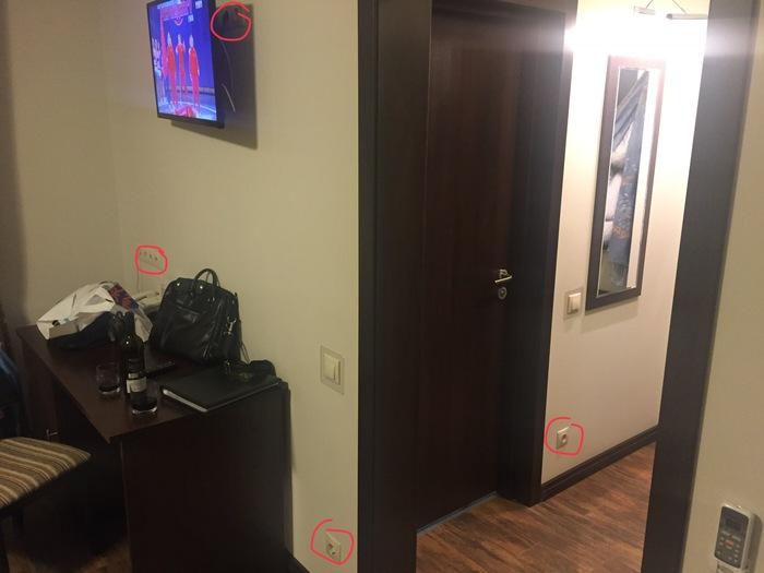 Когда не знаешь, где зарядить телефон Отель, Переславль-Залесский, Розетка, Странности, Зачем, Длиннопост