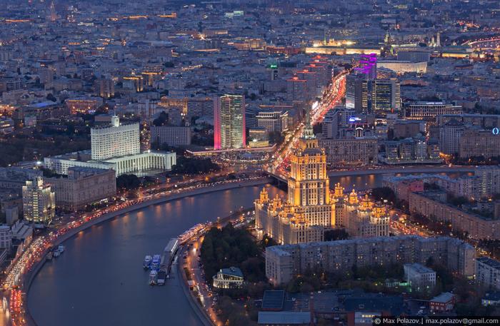 Немного красивой Москвы (часть 2) Фотография, Закат, Max Polazov, Москва, Длиннопост, Подборка, Крыша
