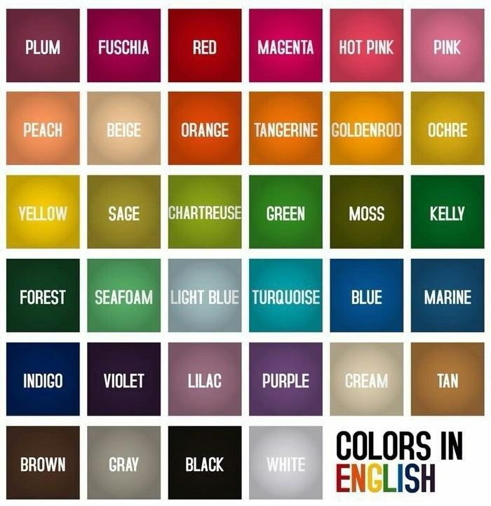 Учим цвета на английском Английский язык, Цвет