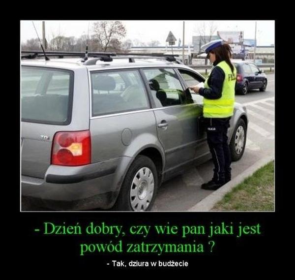 Поляки тоже не любят гаишников Польша, Польский язык, Гаишник