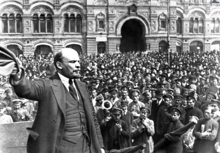 Вся власть народу трудовому! 100 лет Октябрьской революции!