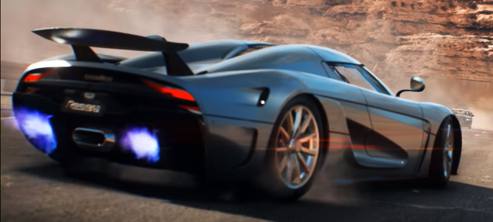 Трейлер Need for Speed: Payback и (не)здравый смысл. Компьютерные игры, Need for Speed: Payback, Трейлер, Koenigsegg Regera