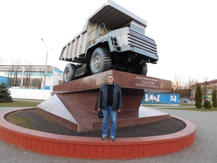 Завод БЕЛАЗ Беларусь, Самосвал, Завод, Длиннопост