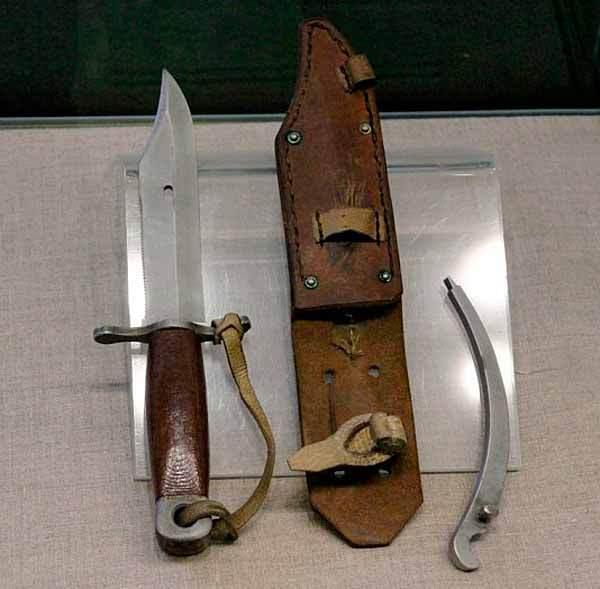 Нож морских разведчиков конструкции Р. М. Тодорова Русское оружие, Нож, Сделано в СССР, Длиннопост