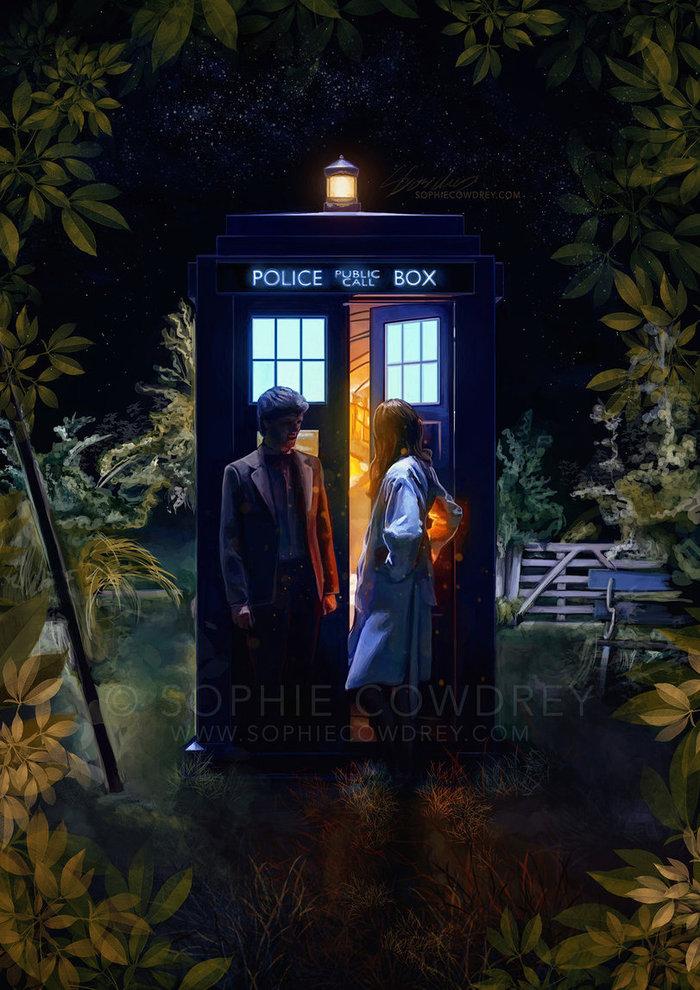 11 Доктор и Эми Понд