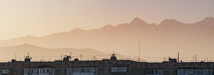 Утром рано Начинающий фотограф, Nikon, Утро, Бишкек, Чукча не фотограф