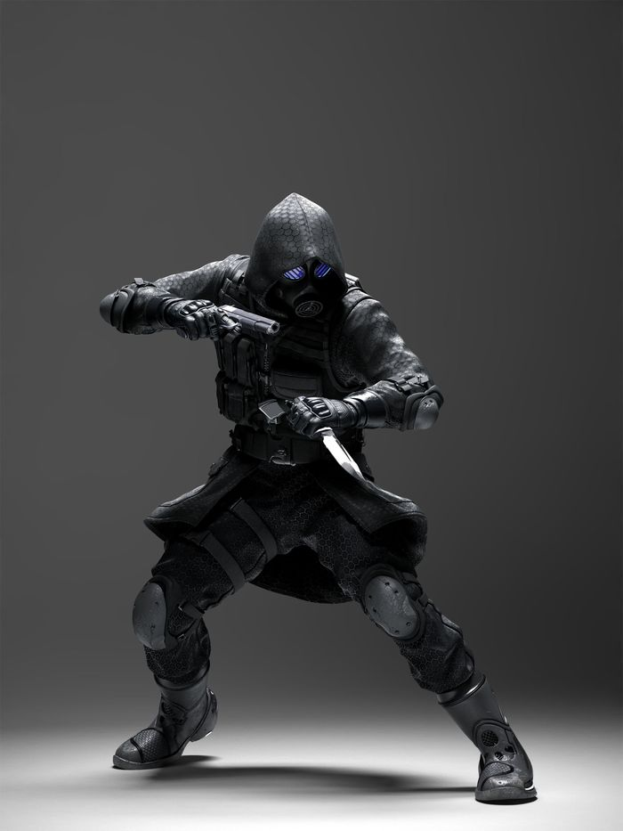 Маска Вектора из вселенной Resident Evil Маска, Косплей, Крафт, Своими руками, Handmade, Вектор, Resident evil, Длиннопост