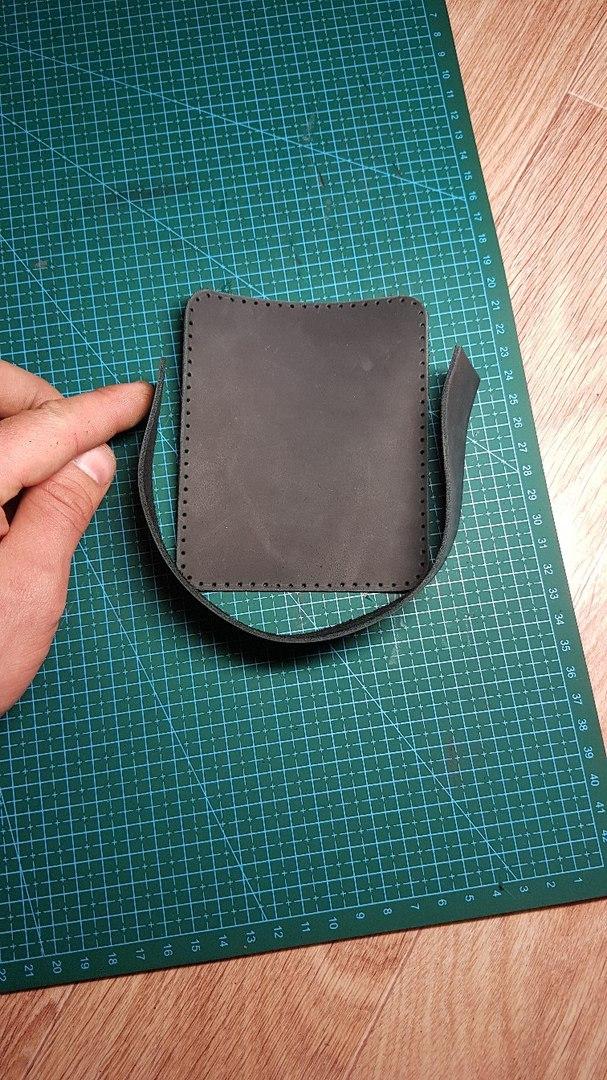 Мини кейс кожа, натуральная кожа, ручная работа, сумка, handmade, длиннопост