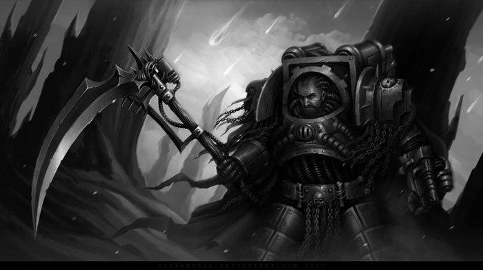 Calas Typhon Warhammer 40k, Calas Typhon, Арт, Рисунок, Wh art, D1sarmon1a