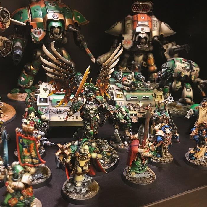 Warhammer 40000: Ангелы Безмятежности WH Miniatures, Warhammer 40k, Angelsofserenity