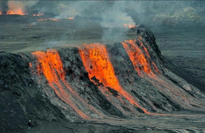 Вулкан Вулкан Килауэа фотография вулкан извержение вулкана гавайи длиннопост