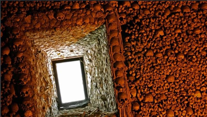 """Часовня черепов (""""мы ждем ваши кости"""") Португалия, Часовня, Череп, История, Длиннопост"""