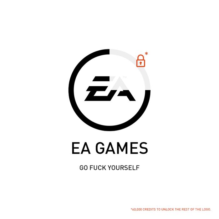 """Немного пофиксил значок ЕА"" EA games, Star Wars: Battlefront"