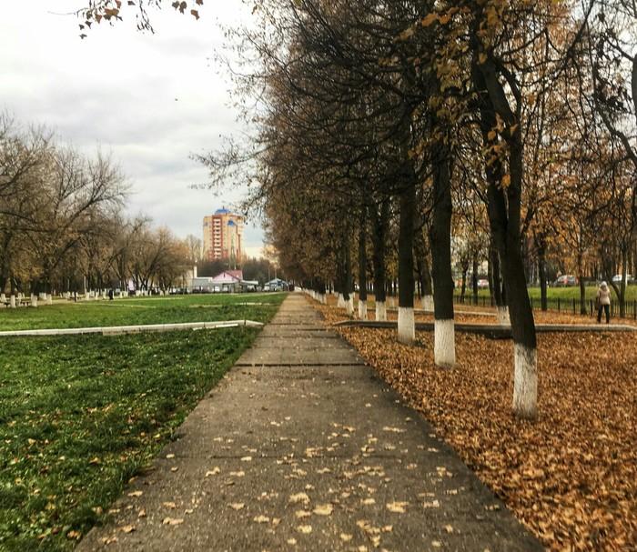 Осень в Чехове.