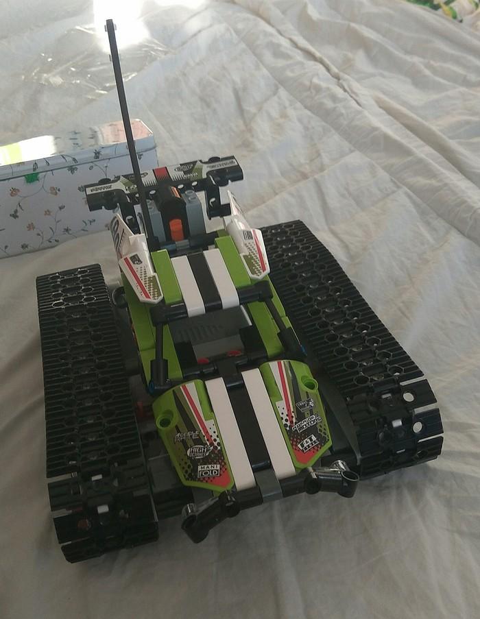 Копия лего техник 42065 от лепин Lego technic, Конструктор, Копия, Обзор, Длиннопост, Lego аналог