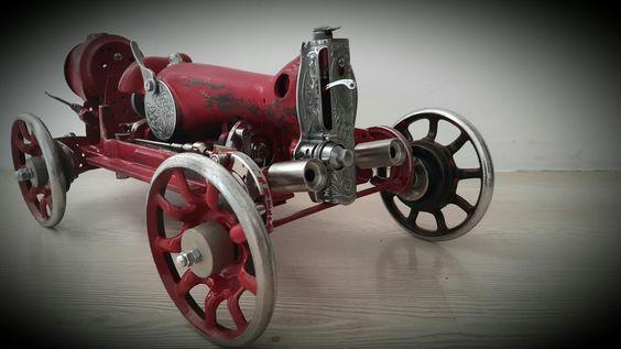 Новая жизнь старых швейных машин Швейная машинка, Вторая жизнь, Моделизм, Автомоделизм, Длиннопост
