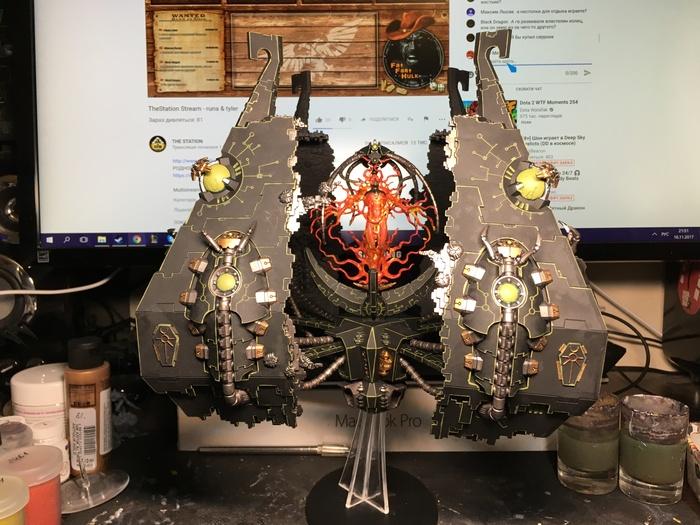 [НЕ] Первые пол-года покраса - Тессерактовое хранилище Warhammer 40k, Warhammer, Wh miniatures, Покраска миниатюр, Тессеракт, Ктан, Длиннопост