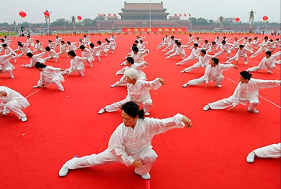 Китай-цзи Тайцзицюань, Китай
