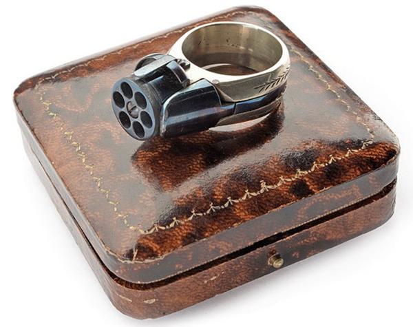 Перстень-пистолет «Le Petit Protector» (маленький защитник). Франция, конец XIX века Оружие, Перстень, Пистолеты, Миниатюрный, Франция
