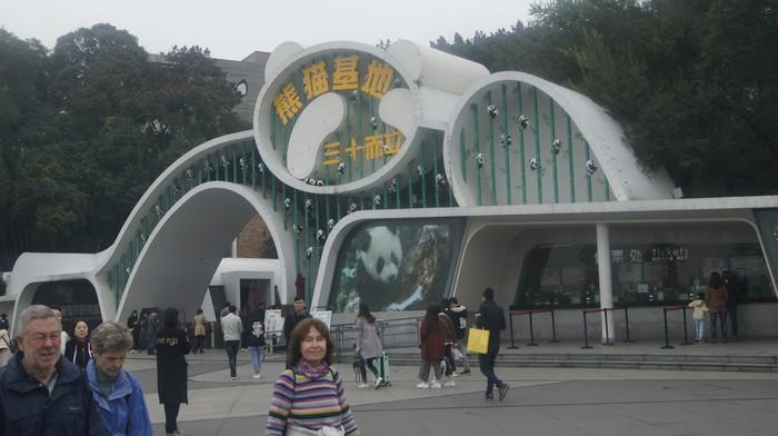 Панда-парк в Чэнду Китай, Чэнду, Панда, Длиннопост