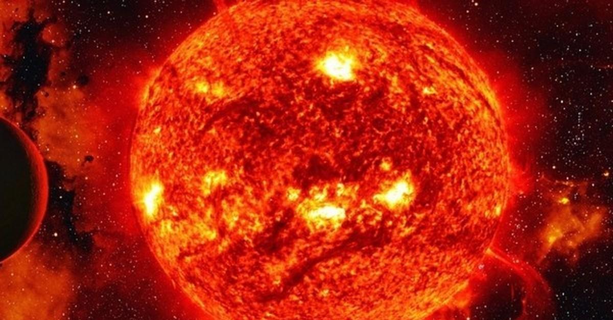 red giant sun - HD1280×960
