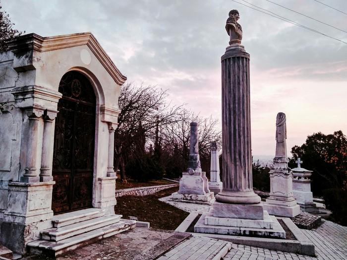 Избыточная философия Фотография, Закат, Философия, Красивое, Кладбище, Длиннопост