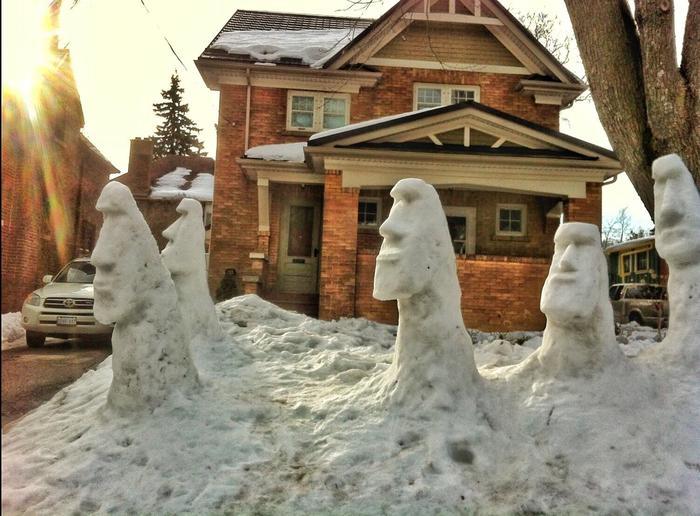 Загадочные статуи