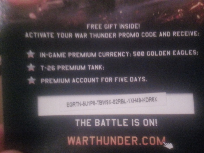 Код Warthunder Код, Халява, War Thunder