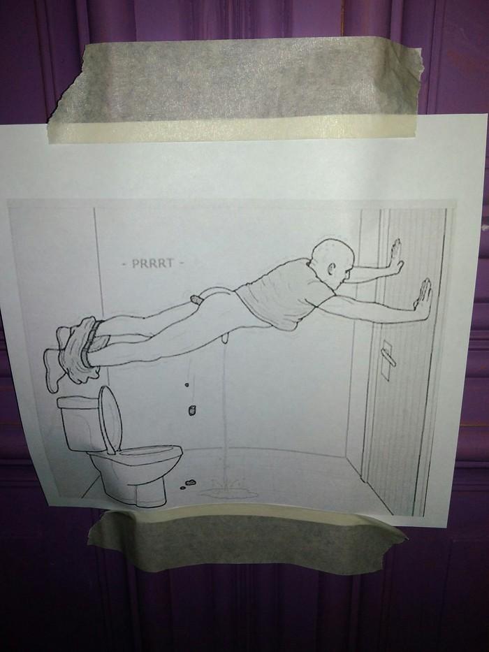"""Забавная """"инструкция"""" в туалете Инструкция, Улыбнуло"""