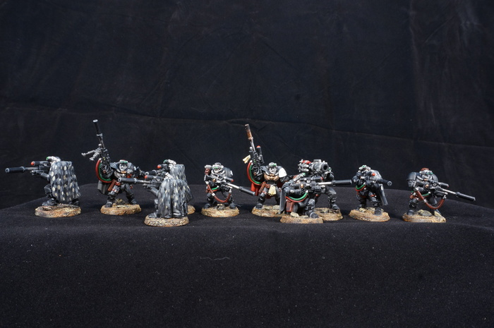 Raven Guard scouts Wh miniatures, Warhammer 40k, Raven guard, Миниатюра, Моделизм, Длиннопост