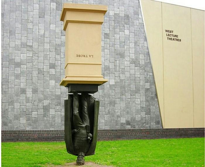 Памятник Чарльзу Ла Тробе в Мельбурне Длиннопост, Фотография, Памятник, Мельбурн, Интересное