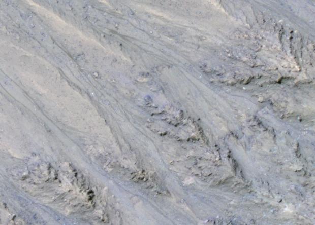 Ручьи на Марсе оказались потоками песка Наука, Новости, Астрономия, Марс, Вода на Марсе, Космос
