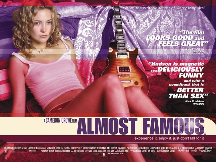 """Советую посмотреть """"Почти знаменит"""" Советую посмотреть, Фильмы, Музыка, Зои Дешанель, Кейт хадсон, Оскар, Драма, Комедия"""