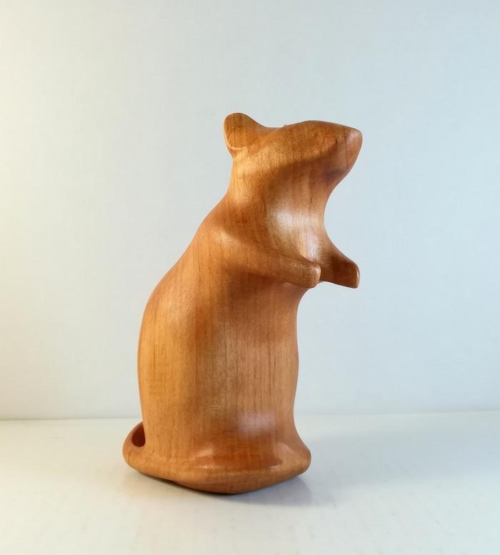 Сувенир деревянный член