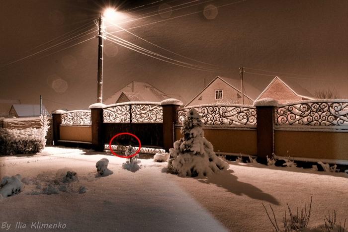 Призрак на фото Фотография, Снег, Картинки