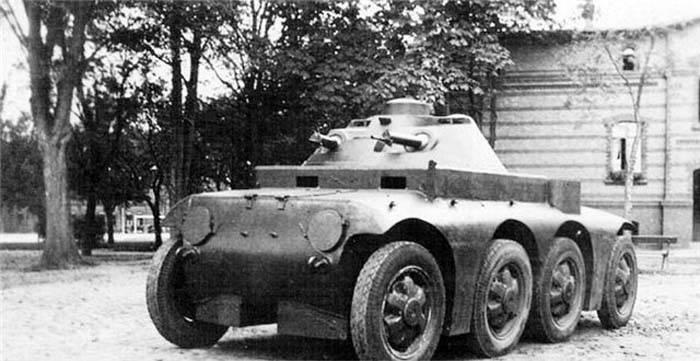 Бронеавтомобиль Magirus M-ARW (Германия) Военная техника, Военное Обозрение, Бронетехника, Техника межвоенного периода, Длиннопост