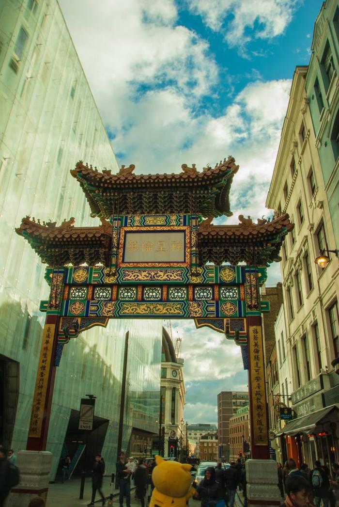 Уголок Китая в Лондоне Лондон, Чайнатаун, Китай, Видео, Длиннопост